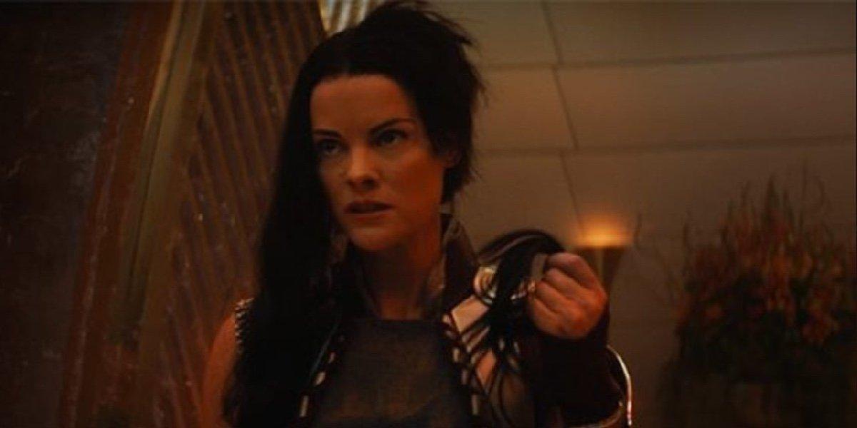 Jamie Alexander as Lady Sif in Loki.