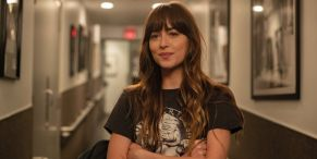 Fifty Shades' Dakota Johnson Says She Had An Anxiety Attack Filming Her New Movie With Jason Segel