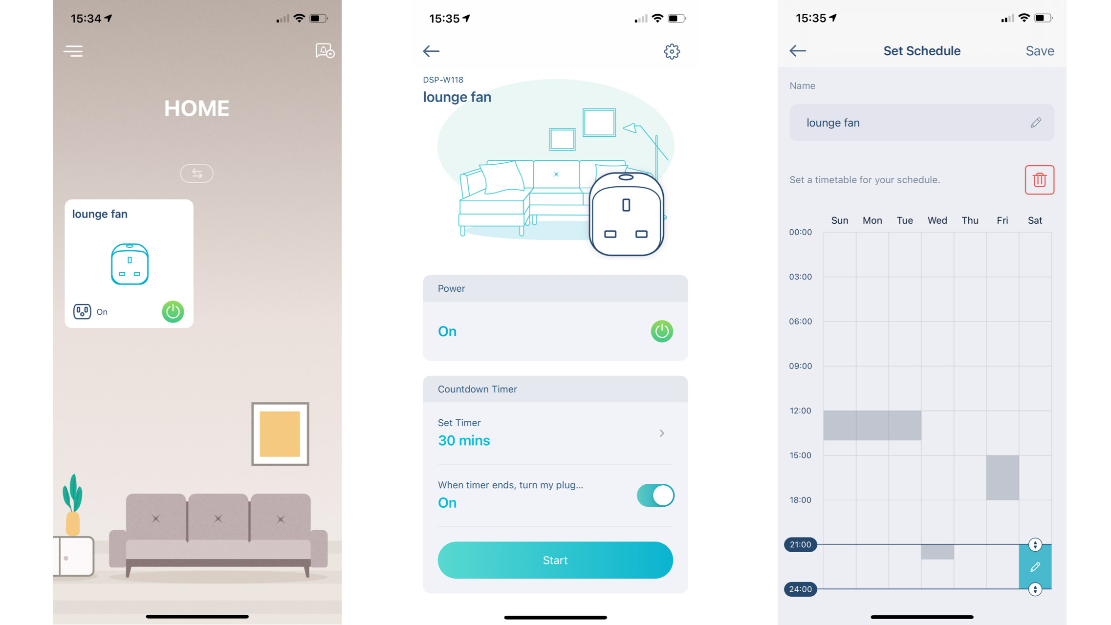 The app to control the D-Link Mini Wi-Fi Smart Plug DSP-W118