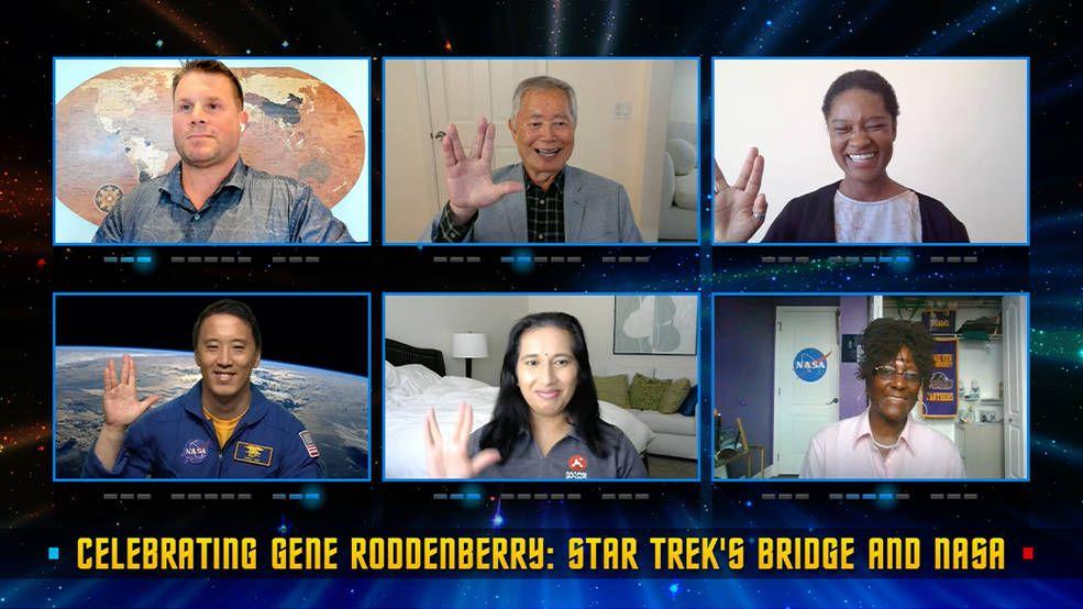 NASA officials and 'Star Trek' stars honor Gene Roddenberry's lasting legacy on his 100th birthday