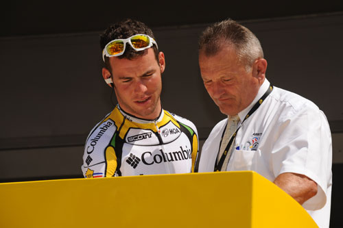 Mark Cavendish, Tour de France 2009, stage 2