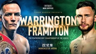 Warrington vs Frampton live stream