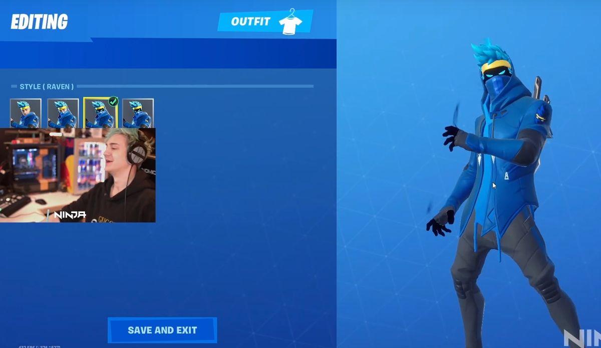 Ninja Has An Official Fortnite Skin Now Pc Gamer