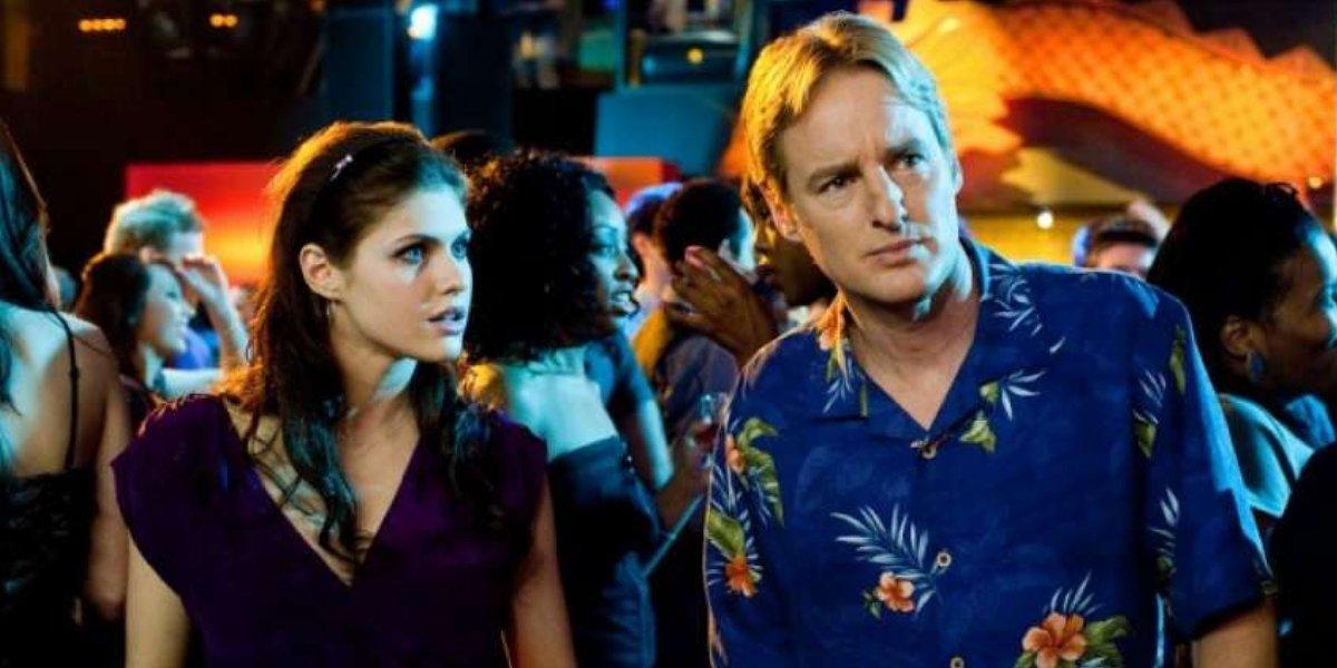 Alexandra Daddario and Owen Wilson in Alexandra Daddario