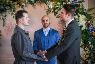 Ben and Callum tie the knot in EastEnders