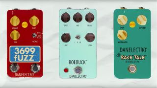 Danelectro NAMM 2020 pedals