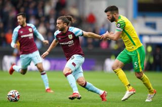 Burnley v Norwich City – Premier League – Turf Moor