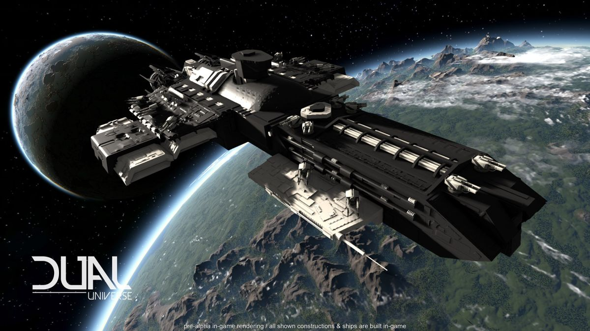 Ambitious MMO Dual Universe shows off frantic space combat in a new trailer