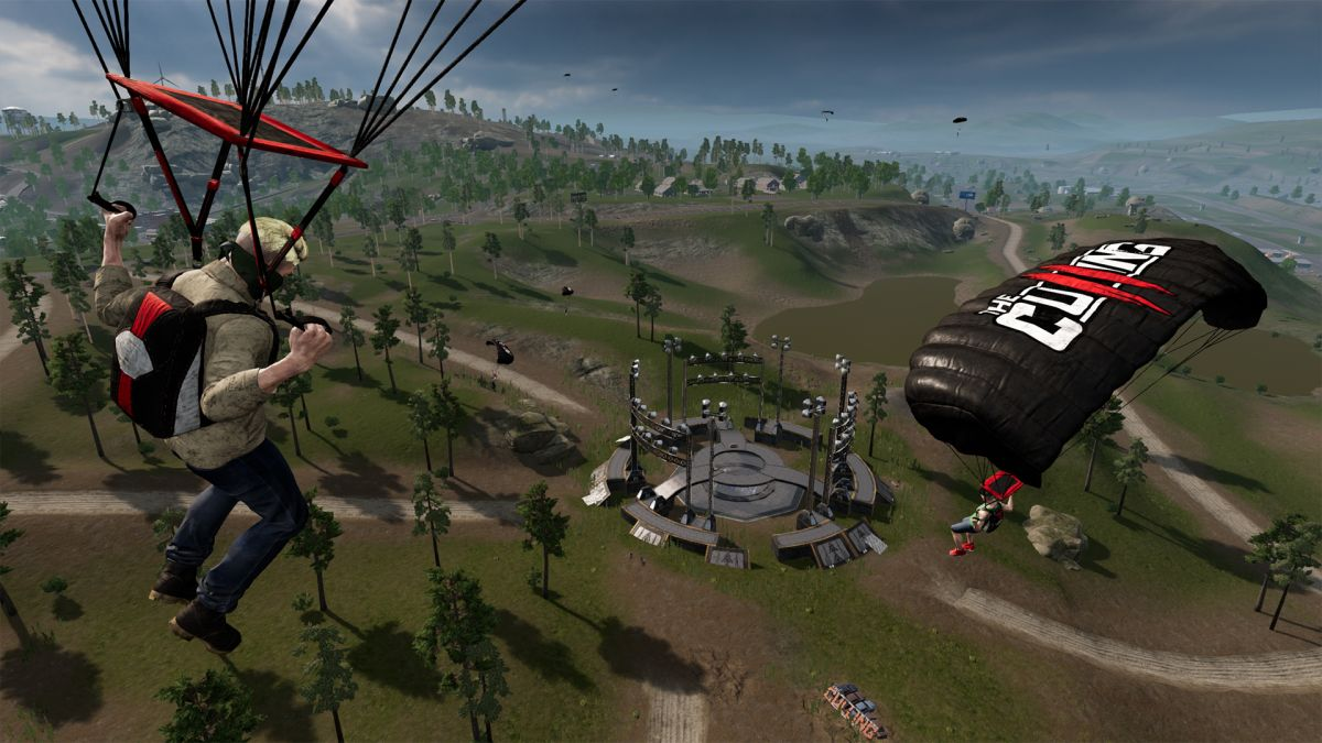 I won a round of The Culling 2's battle royale before my parachute even opened