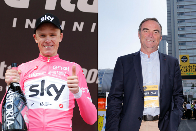 Bernard Hinault calls on Tour de France riders to strike over Chris  Froome s participation 57457f13fc32
