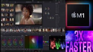 Blackmagic Design DaVinci Resolve M1 update