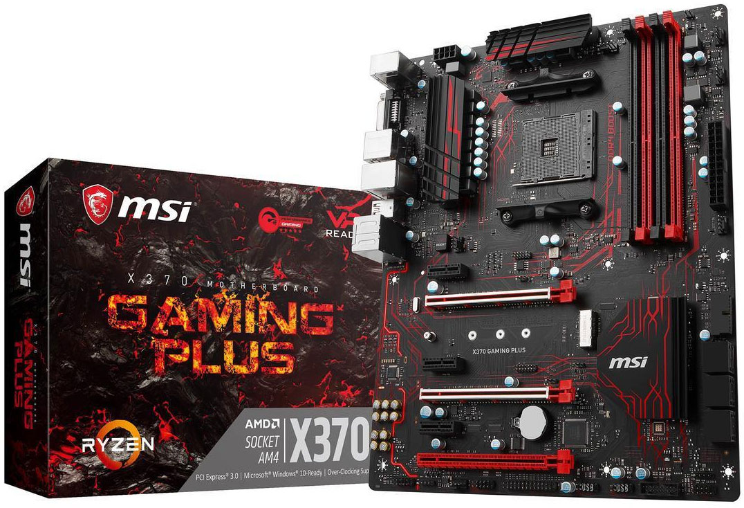 Get An Amd Ryzen 7 1700x Cpu And Msi X370 Gaming Plus Motherboard For 300 Pc Gamer