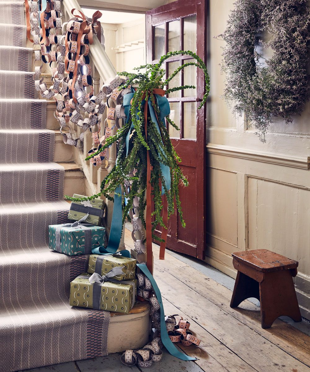 Christmas hallway ideas to set the mood