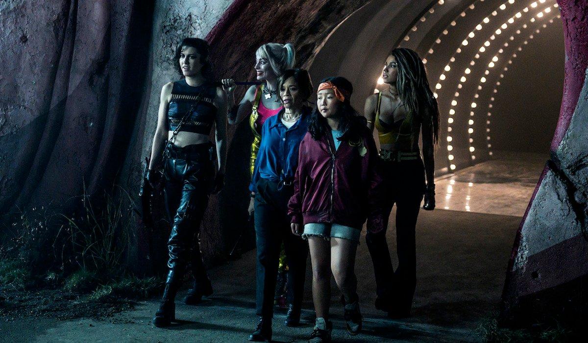 Birds of Prey squad, Huntress, Harley Quinn, Renee Montoya, Cassandra Cain and Black Canary
