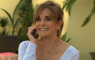 Dallas star Linda Gray makes Hollyoaks debut tomorrow