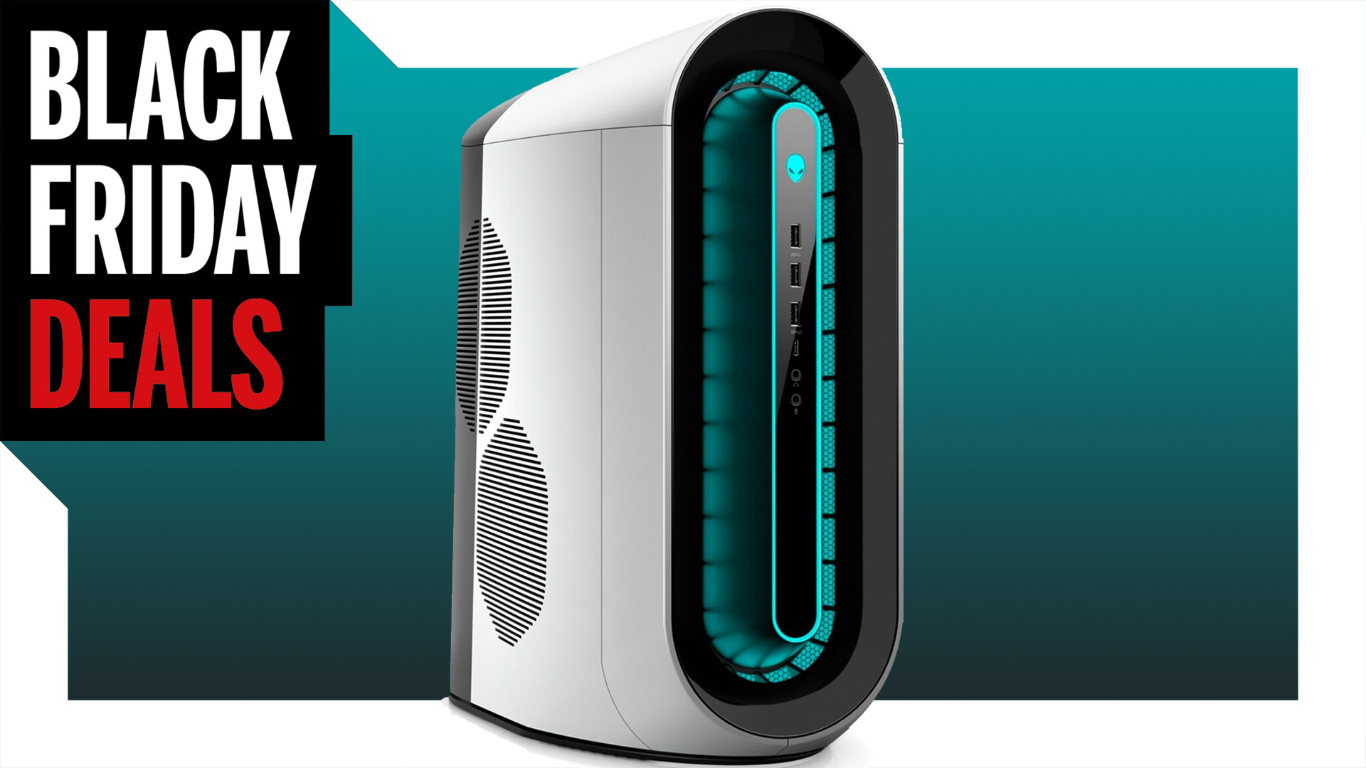 Alienware's entry-level Aurora R11 gaming PC is just $843 today