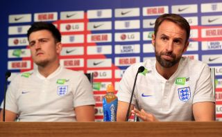 Gareth Southgate and Harry Maguire File Photo