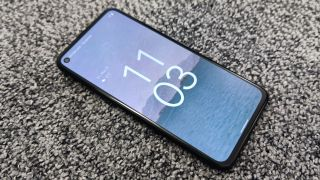 Android 12 on a Google Pixel 4a 5G