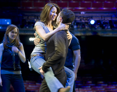 Rachel and Vincent visited the West End cast of Dirty Dancing...