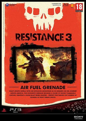 Resistance 3 Pre-Order Unlocks Air Fuel Grenades, Nathan Hale #17851