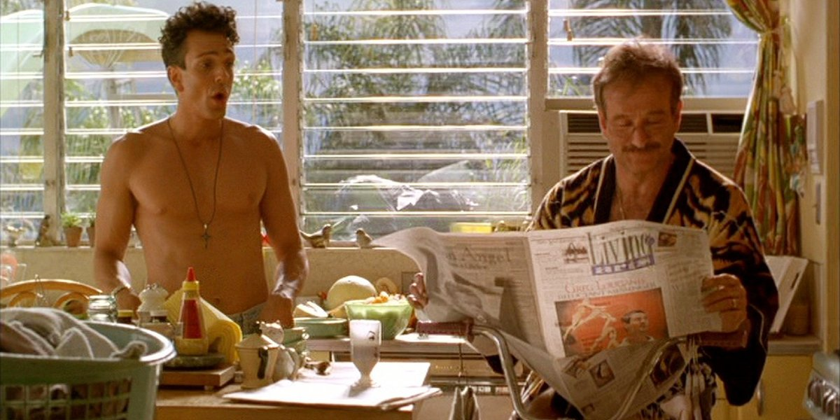 Hank Azaria and Robin Williams in The Birdcage