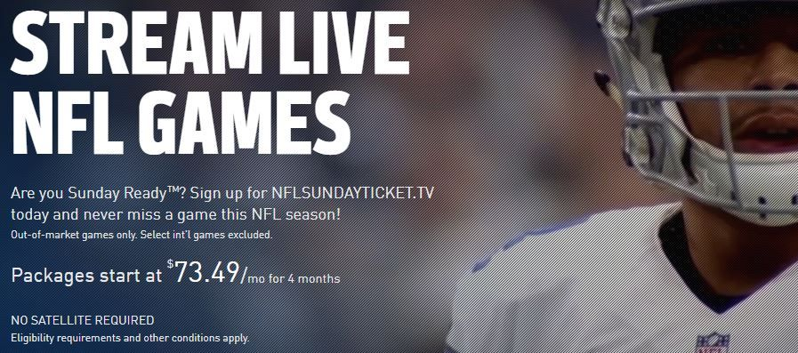 How to Get NFL Sunday Ticket Without DirecTV | Tom's Guide