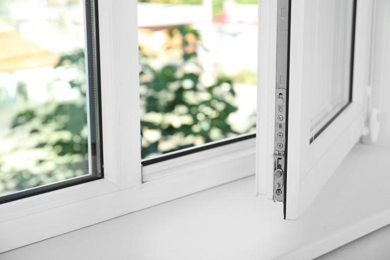 Fiberglass window open