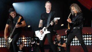 Metallica playing Global Citizen Festival 2016