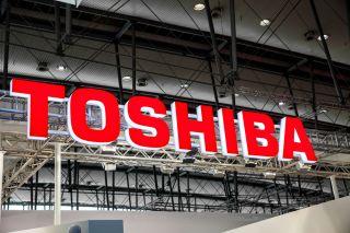 Toshiba logo, Shutterstock Image