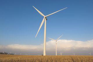 wind farm, wind power, green energy
