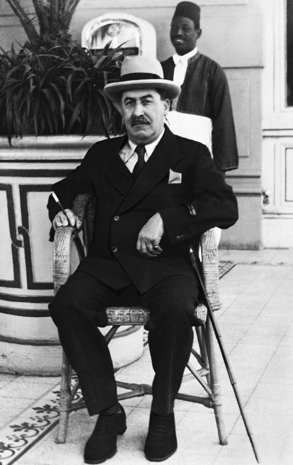 Egyptologist Howard Carter discovered the tomb of King Tutankhamun (AP)