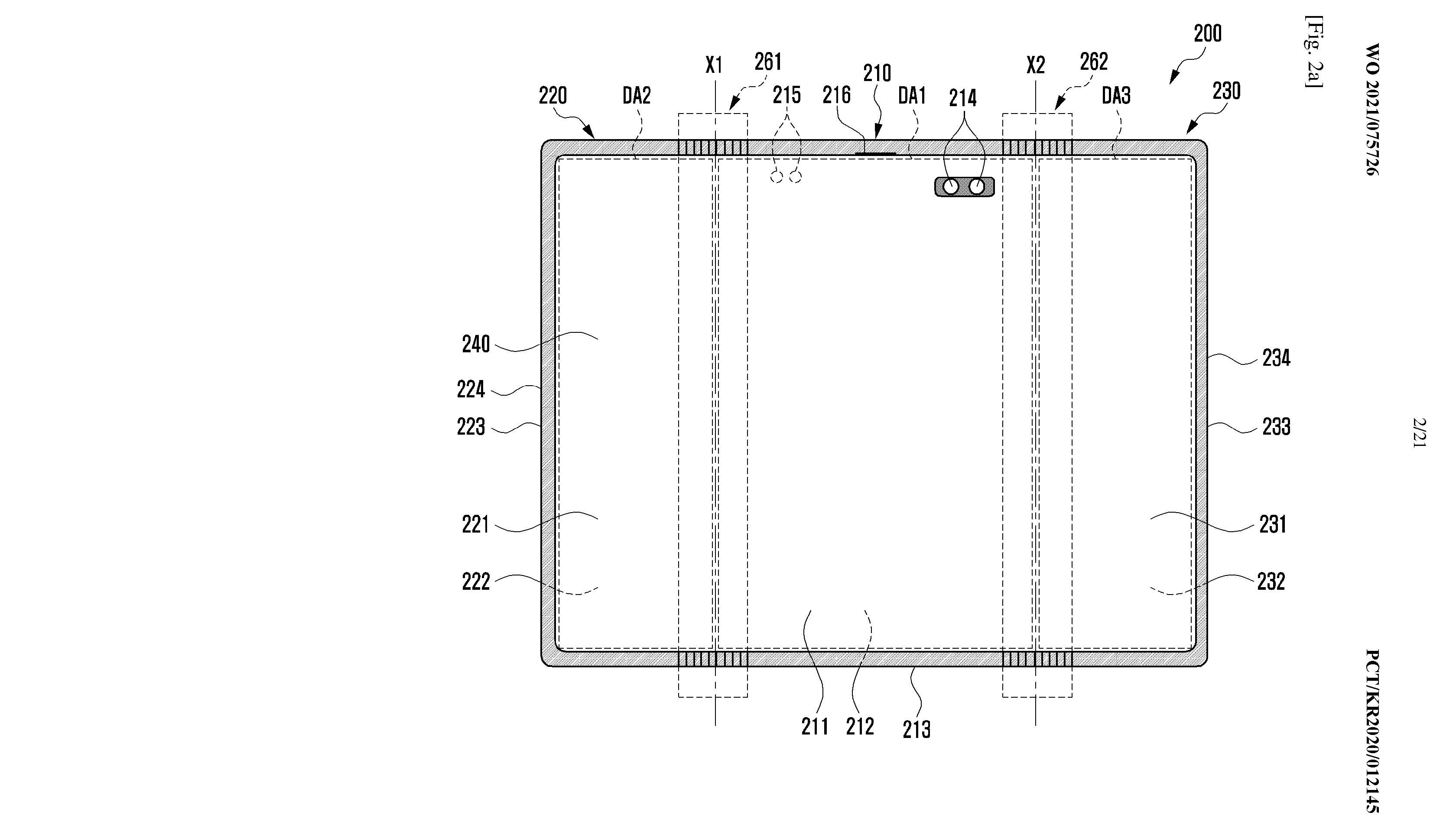 Patent designs for a potential foldable tablet