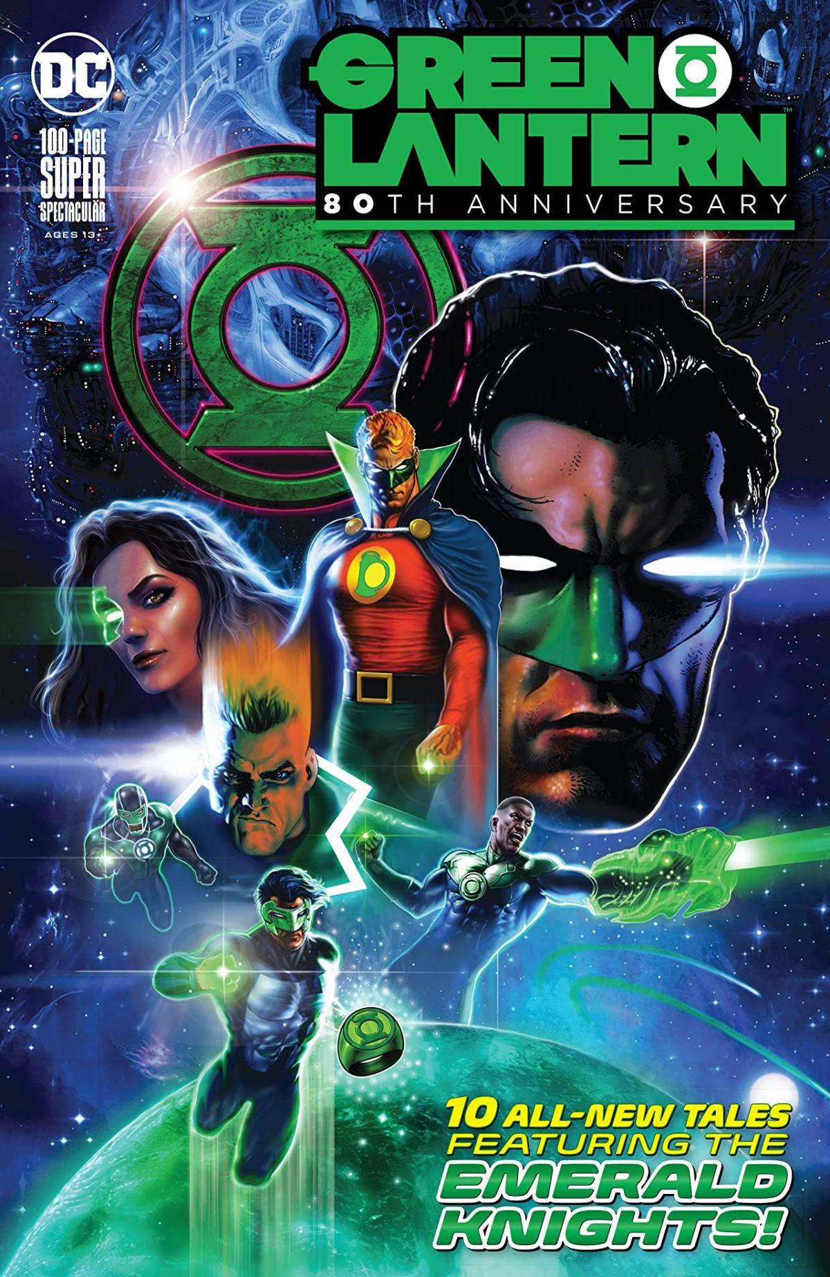 Green Lantern Mini Figure Hal Jordan Corps Justice League DC Marvel UK Seller