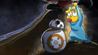 Star Wars x The Simpsons crossover