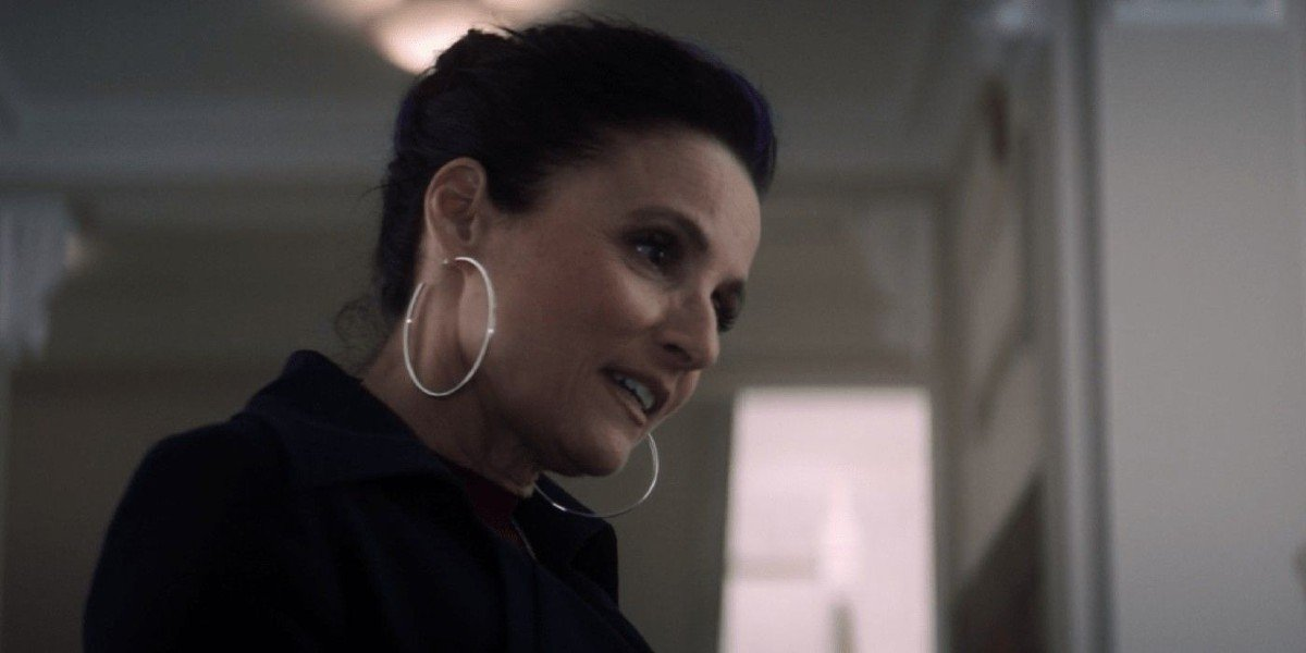 Valentina Allegra de Fontaine (Julia Louis-Dreyfus) speaks on The Falcon and the Winter Soldier (2021)