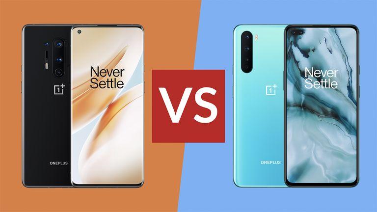 OnePlus 8 Pro vs OnePlus Nord