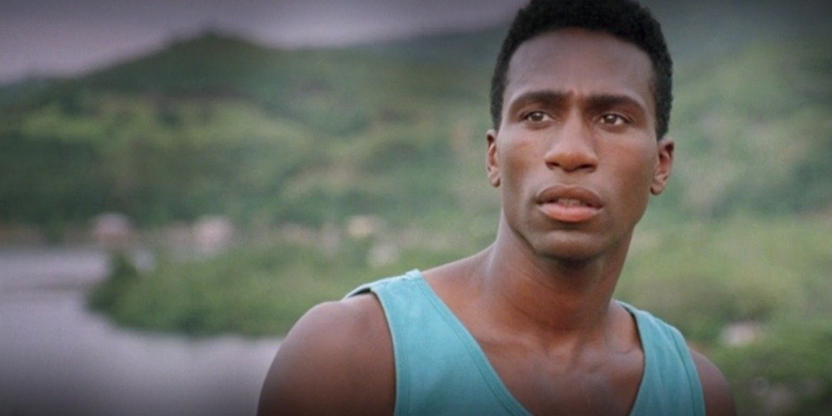 Leon Robinson in Cool Running