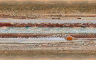 Jupiter, largest planet