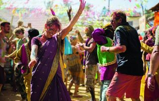 Festival fever hits the Good Karma Hospital this week as Maggie and Paul (Phyllis Logan and Philip Jackson) throw themselves into the Holi celebrations, while grumpy Dr Varma ends up covered in coloured powder.