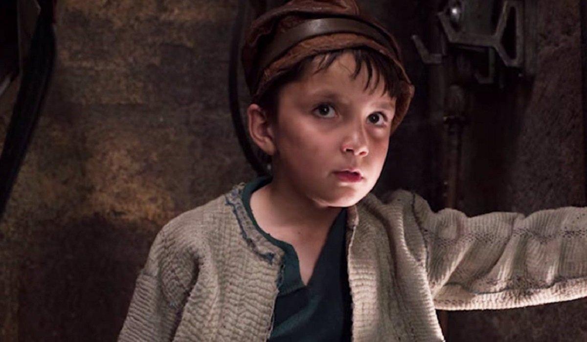 The Last Jedi Broom Boy