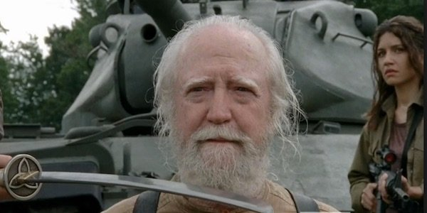 Hershel right before his death