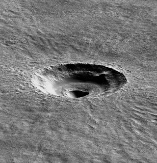 Mars Crater Studied by Bramson