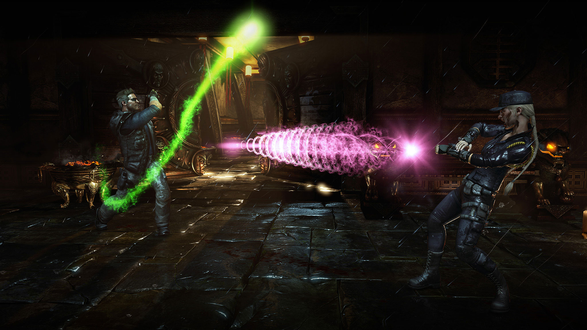 Mortal Kombat X Johnny Cage And Sonya Blade Trailer Sneaks In A Third Character Reveal #32635