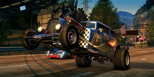roadster in Burnout Paradise Remastered