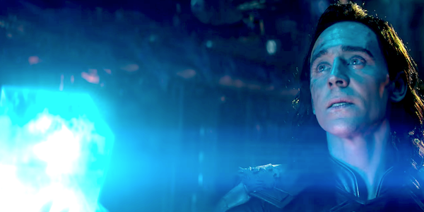 Loki with the Tesseract