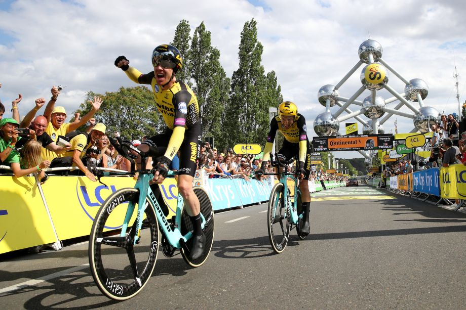 Jumbo Visma Beat Team Ineos To Win In Tour De France 2019 Stage Two Team Time Trial Cycling Weekly