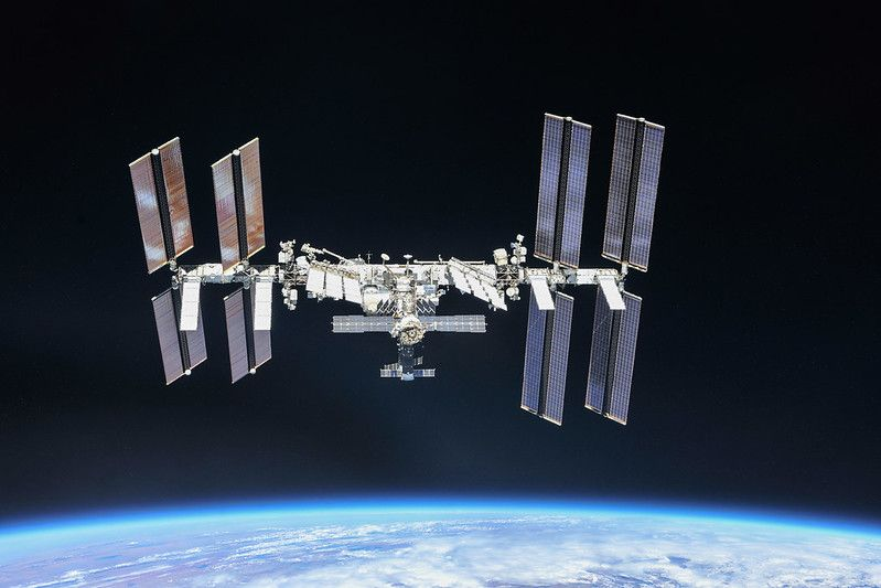 Astronauts take shelter as space station dodges orbital junk - Space.com