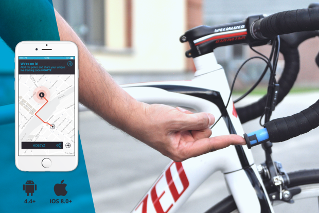 Sherlock gps bike tracker