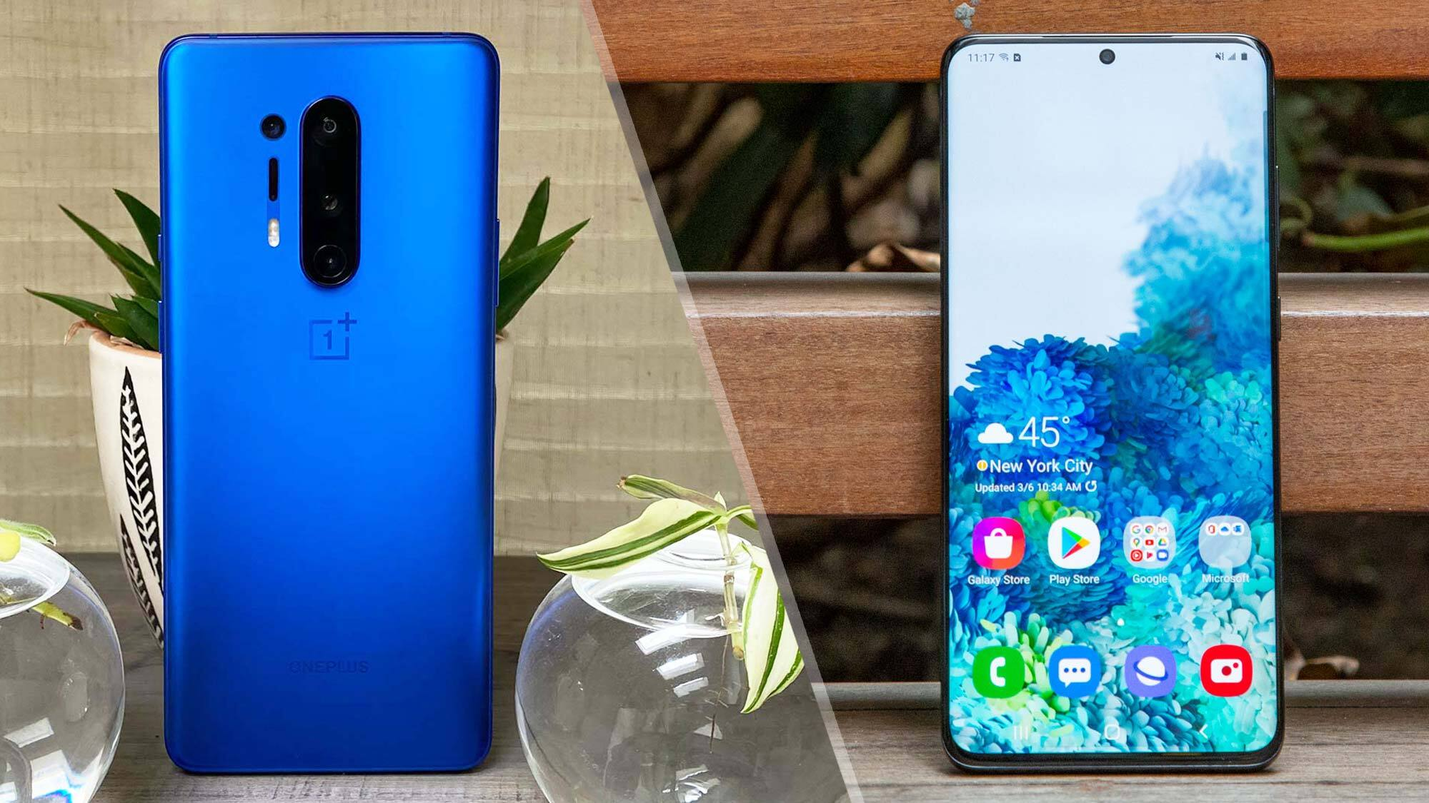 Oneplus 8 Pro Vs Samsung Galaxy S20 Plus Why Oneplus Wins Tom S Guide
