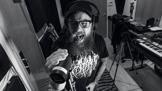 In Flames in the studio